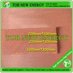 1.6mm Thickness Copper Foam For