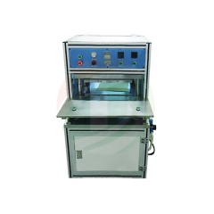 Manual hot pressing shaping machine